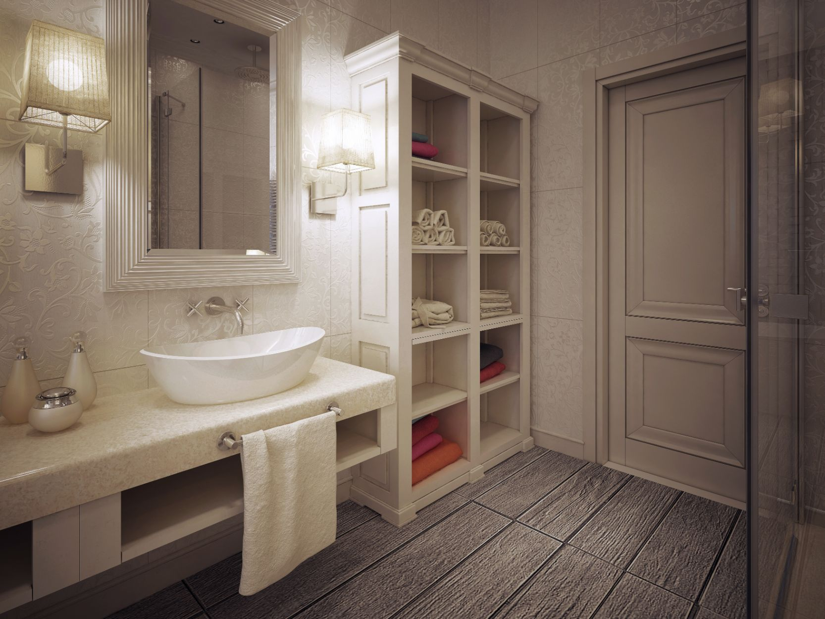 8 Benefits Of Bathroom Vanities With Tower Storage