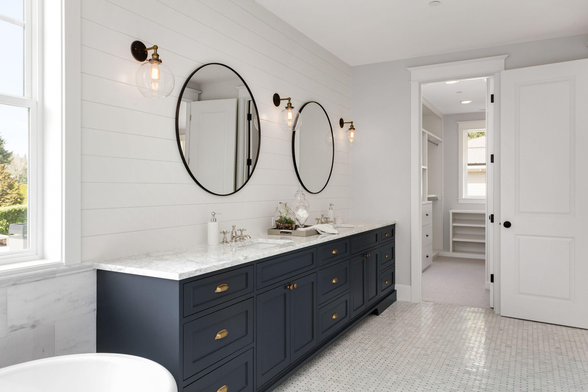 Cost Of Pre Made Vs Custom Built Bathroom Vanities Comparison